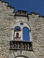 Der romanische Kirchturm